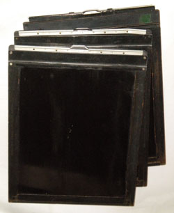 Eastman Kodak F & S 8x10 Film Holder, Burke & James Vintage Film Holder, Ansco Vintage Film Holder